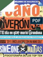 Revista Un Caño # 1 (Parte 1 - Pag 1 a 20)