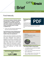 food insecurity impact brief