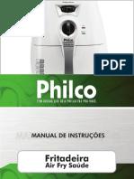 Philco - Fritadeira Air Fry Saúde BR