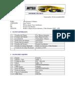 Informe Proceso Soldeo Alerone y Paranates Antamina