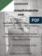 Flyer Presentazione Esposizione Labas - Bologna
