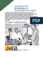 Prof. Dharma De Silva  The unforgettable trailblazer in management education in Sri Lanka.docx