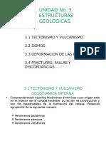 Unidad 3 Estructuras Geologicas