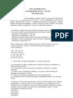 Lista de contabilidade social
