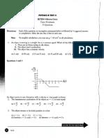 AP Physics B Mock Test