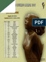 Obras Preseleccionadas - Escultura y Cerámica Tradicional