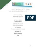 Plan de Bienestar y Estimulos FINAL 2014-2015 Con ADAPTACIONES 2015