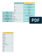 Plantilla de Excel Para Bases de Datos