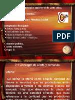 Microeconomía Oferta y demanda.pptx