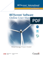 Retscreen Manual