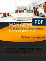 1.Management Fasyenkes - Prof Didik