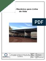 Cálculo Mecânico para Linha de Vida.docx