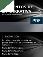 Elementos de La Narrativa en la cinematografía contemporánea