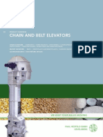 Chain and Belt Elevators
