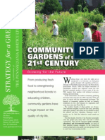 Community Gardens of the 21st Century