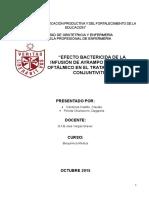 Final Proyecto de Bioquimica. Ayrampo y Conjuntivitis
