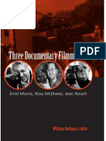 Three documentary filmmakers