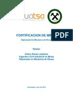 curso fortificacion de minas