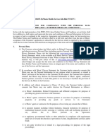 Further Ts Cs - PDPA (Feb 2014)