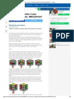 Cómo Resolver El Bendito Cubo Rubik Fácilmente