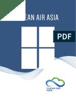 Clean Air Asia Brochure