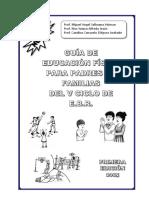 Guia de Educación Física Para Padres de Familias Del v Ciclo de Ebr