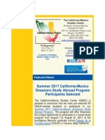 CALIFORNIA-MEXICO STUDIES CENTER - Summer 2017 Dreamers Study Abroad Participants Selected.pdf