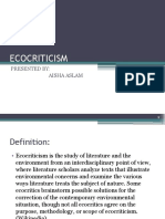 Eco Criticism