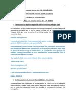 Adiciones Al Informe Nro 5 de 2010 REDBOL