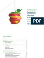 Toward a Health and Sustainable Local Food System in Toronto