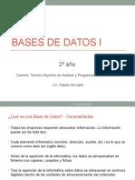 Bases de Datos I_primer Cuatrimestre