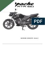 TVS Apache RTR 180 Service Manual Internal Training Manual Rev1