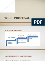 new-topic proposal