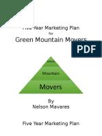 five year marketing plan
