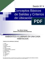 Sesion 4 Conceptos Básicos de Salidas y Criterios de Ubicación de Puntos