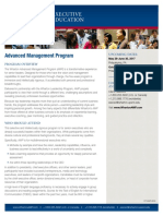 Wharton Advanced Management Program