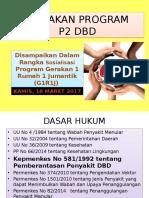 Kebijakan Program P2 DBD