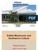 Edible Mushrooms and Earthworms Culture