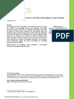 Retorno Sobre Os Herdeiros de Pierre Bourdieu e Jean-Claude