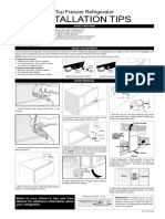 FRIGIDAIRE Top Mount Refrigerator Manual