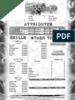 NWoD Innocents1-Page Editable
