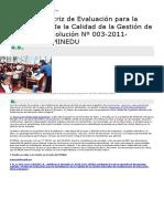 Novedades en Educación