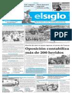 Edición Impresa El Siglo 11-04-2017