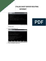 3. Modul Instalasi Dhcp Server Routing Internet Dan Squid