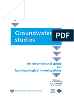 Groundwater Studies UNESCO