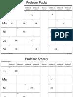 Horario Tecnica 19 Profes