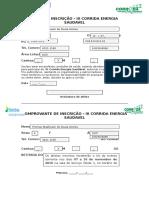 Ficha de Inscrição Para a III Corrida Energia Saudavel1
