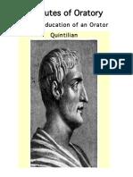 Institutes of Oratory - Quintillion