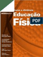 Modulo 2 Educação Fisica a Distancia