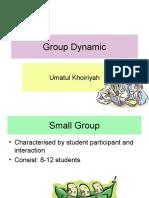 Group Dynamic
